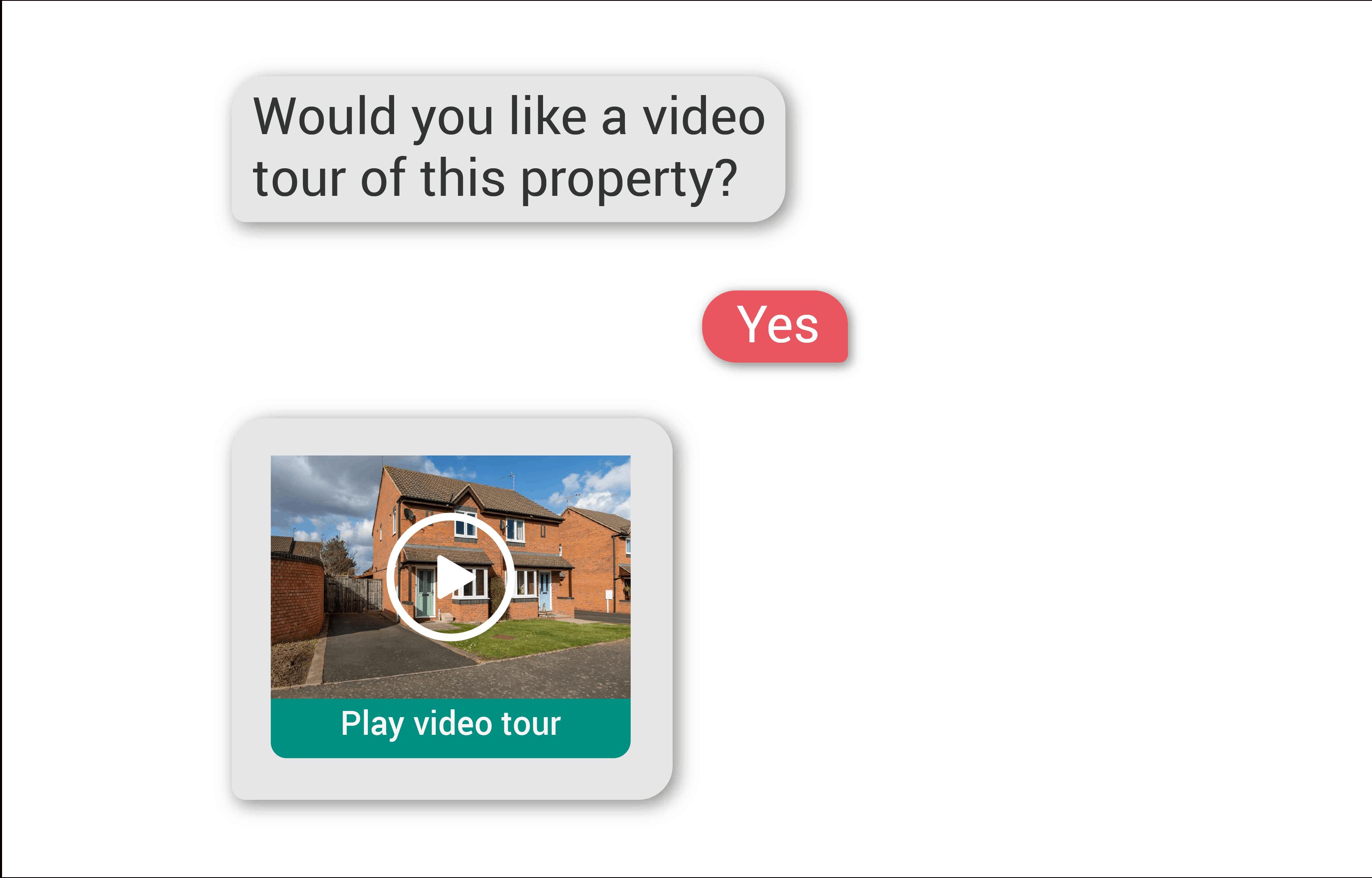 Property sales: AI video tour prompt