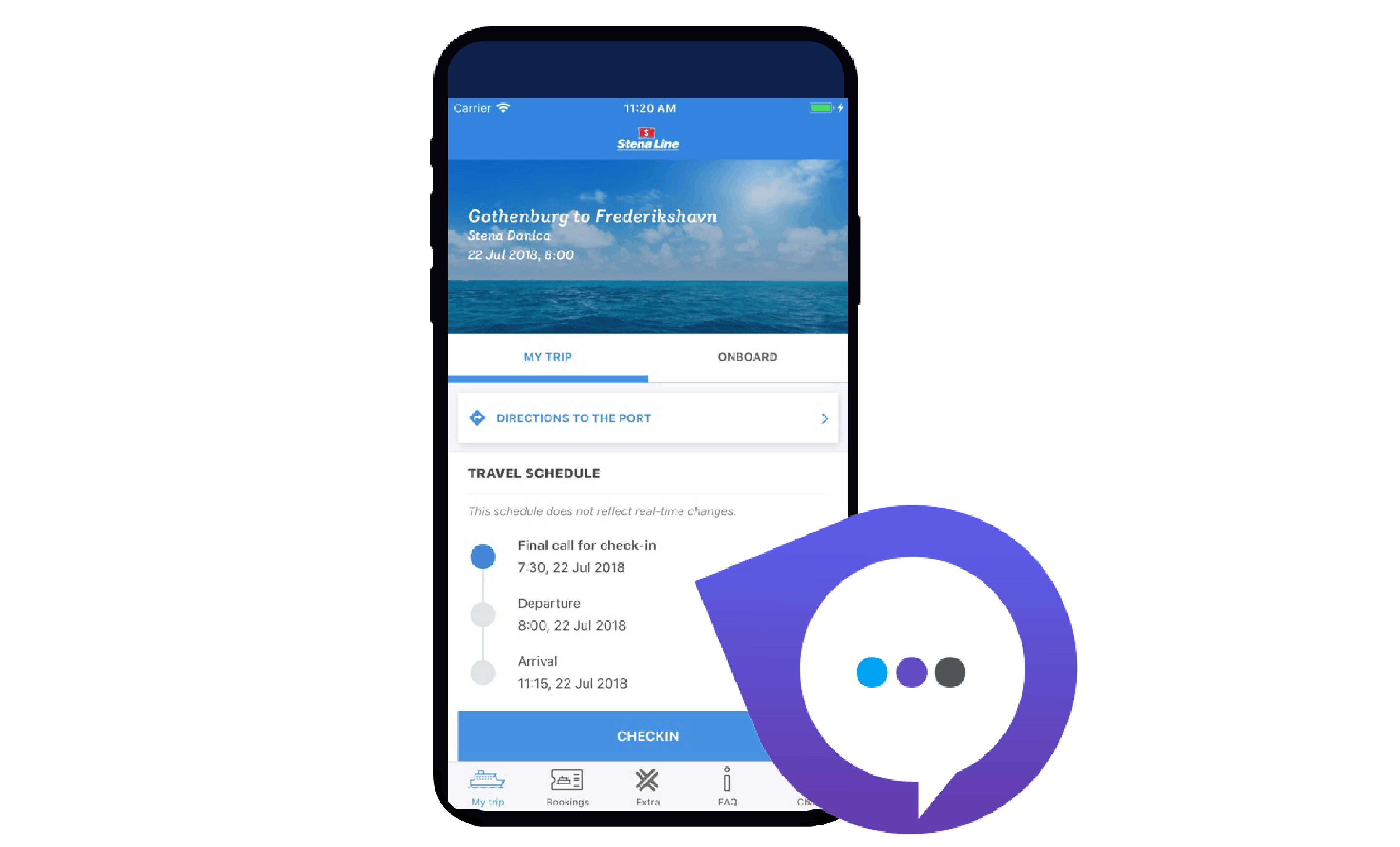 Travel mate app Stena Line
